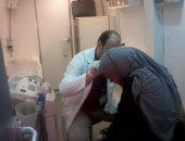 الكشف على 2500 حالة بقافلة طبية مكبرة بميت كنانة بالقليوبية