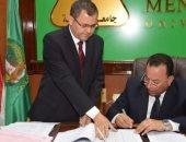 رئيس جامعة المنوفية يعتمد نتيجة الفرقة الرابعة بكلية الحقوق بنسبة نجاح 79%