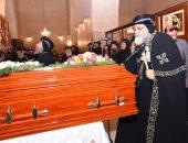 3 عبارات دالة فى حديث البابا تواضروس لرهبان أبو مقار بجنازة الأنبا إبيفانيوس