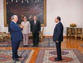 """""""جبالى"""" يحلف اليمين رئيسا للدستورية..ووسام الجمهورية لـ""""عبد الوهاب"""""""