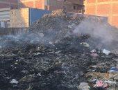 """الأدخنة والنيران والأمراض تحاصر منازل أوسيم بسبب مقلب قمامة """"الصفيرة"""""""