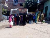 شكوى من انقطاع المياه لفترات طويلة عن شارع عبد الواحد أبو عوف فى إمبابة