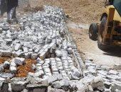 محافظ سوهاج: إزالة 8 حالات تعد على الأراضى الزراعية وأملاك الدولة
