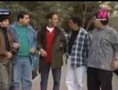 """""""هتموت من الضحك"""".. فيديو نادر للفنان الراحل محمد شرف من مسلسل القنفذ"""