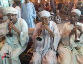 """صور.. فرقة الريس """"عبدالاة"""".. 40 عامًا من الإمتاع بـ""""المزمار البلدى"""""""