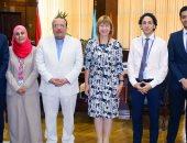 مدير المركز الثقافى البريطانى: جامعة طنطا رائدة على المستويين العربى والدولى