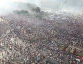 مظاهرات حاشدة فى بولندا للتضامن مع القضاء ضد ضغوط الحكومة السياسية