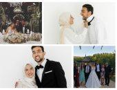 قصة صور .. الجانب العائلى فى حياة أحمد حسن كوكا