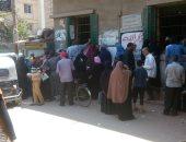 صور.. توافد المواطنين على مكاتب تموين الغربية لإضافة المواليد بالبطاقات