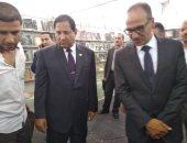 هيثم الحاج على وأحمد ضيف يفتتحان معرض طنطا للكتاب