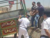 صور..مدير أمن القاهرة يقود حملات برفع الإشغالات وتطهير شوارع العاصمة