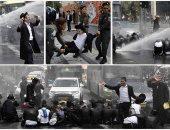 ضرب وسحل فى تفريق تظاهرة ضد مشروع الخدمة العسكرية الإلزامية بإسرائيل