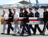 صور.. رفات جنود أمريكيين تصل لقاعدة بيرل هاربر قادمة من كوريا الشمالية