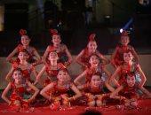 فرقة الشباب والأطفال الصينية تفتتح مهرجان القلعة بأجمل رقصاتها