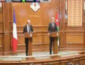 وزير الخارجية الفرنسى: لا حل للأزمة السورية إلا بالطرق السلمية