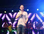 صور .. حسام حبيب يتألق فى أولى حفلاته الصيفية  ببورتوسعيد