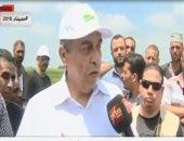 فيديو.. وزير الزراعة: سلالات أرز جديدة مقاومة للجفاف والملوحة بكفر الشيخ