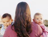 """بين المعاناة و""""نص الكوباية المليان"""".. اللى ماتعرفوش عن تجربة الأمومة لتوأم"""