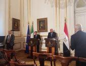 وزير خارجية إيطاليا يشيد بالتعاون القضائى بين القاهرة وروما فى قضية ريجينى