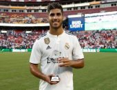 ماركو أسينسيو أفضل لاعب فى مباراة ريال مدريد ويوفنتوس