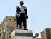 """محافظ الإسماعيلية: إعادة تمثال الخديو إسماعيل لـ""""لونه السابق"""""""