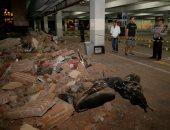 إصابة 5 أشخاص وتدمير 18 منزل فى زلزال الصين