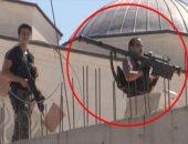 """فيديو.. أردوغان يحمى نفسه بصواريخ """"دفاع جوى"""" أثناء زيارته لمسجد بأسطنبول"""