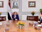 الرئيس السيسي يتابع معدلات تنفيذ الخط الثالث لمترو الأنفاق