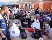وصول الدفعة الثالثة من حجاج قطاع غزة لمطار القاهرة قادمين من معبر رفح
