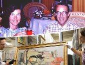 """صور.. حدث فى متحف أريزونا بأمريكا.. رجل وامرأة يسرقان لوحة فى 15 دقيقة.. الزوجان يحتفظان بها فى حجرتهما منذ 30 عاما.. """"جيرى"""" مدرس موسيقى ويؤلف قصصا عن كيفية سرقة المتاحف.. والموت وحده يكشف السر"""