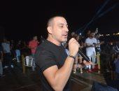 محمد دياب يشعل الساحل الشمالى فى حفل غنائى بأجواء صيفية