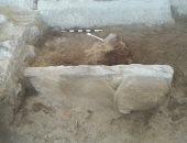 الآثار: العمل مستمر لاستخراج تمثال أبو الهول المكتشف بطريق الكباش