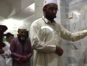 فيديو.. إمام مسجد فى إندونسيا يستكمل صلاة الفجر رغم الزلزال المدمر