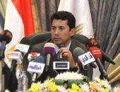 شاهد.. لحظة توقيع بروتوكول تعاون بين وزارة الرياضة وأندية وادى دجلة