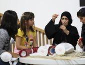 فيديو.. الأطفال البرازيليون يصنعون أقنعتهم من وحى التراث الإماراتى بمعرض ساوباولو