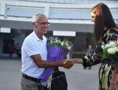"""صور.. استقبال حافل لـ""""كوبر"""" فى أوزبكستان"""