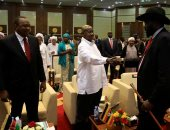 صور.. مواطنو جنوب السودان يحتفلون بتوقيع اتفاق تقاسم السلطة فى البلاد