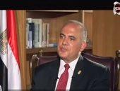 """وزير الرى: """"قلقى"""" من سد النهضة صحى لترشيد الاستهلاك"""