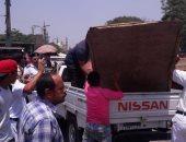 صور.. مدير أمن القاهرة يقود حملات لإزالة الإشغالات وضبط 48 بائعا متجولا