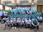 بدء فعاليات برنامج إعداد القيادات الطلابية لطلاب جامعة عين شمس بمدينة رأس البر