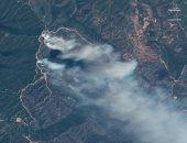شاهد.. لقطات جوية لحرائق الغابات المستمرة فى كاليفورنيا