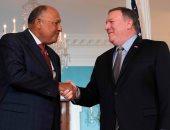 سامح شكرى يلتقى وزير الخارجية الأمريكى مايك بومبيو بواشنطن