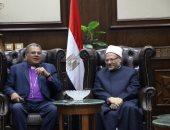 المفتى يستقبل وفدا من رؤساء الكنائس الإنجيلية للتهنئة بعيد الأضحى