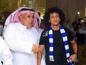 """فيديو وصور.. وصول """"عموري"""" ثاني أغلى صفقة إعارة فى العالم إلى الرياض"""
