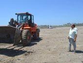 مساعد محافظ كفر الشيخ يتفقد موقع إنشاء منطقة لوجستية بقرية الشهابية