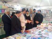 """إنطلاق فعاليات """"معرض الكتاب"""" بالكاتدرائية المرقسية بالاسكندرية"""