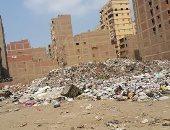 قارئ يناشد بإزالة القمامة من أمام مدرسة ثروت عكاشة ببولاق الدكرور