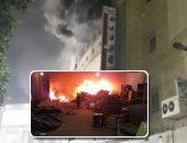 """تقرير أولى أمام وزير القوى العاملة يرجع حريق سينما ريفولى لـ""""ماس كهربائى"""""""