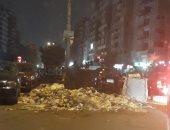 شكوى من انتشار القمامة بشارع البوهى فى إمبابة