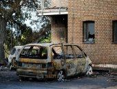 صور.. إصابة أكثر من 30 شخصا و تدمير 9 منازل فى حريق بألمانيا